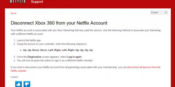 Netflix Disconnect Cheat Code