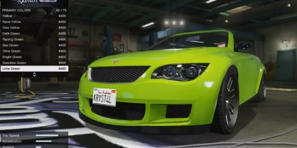 GTA Online Car Values