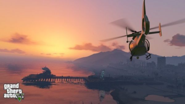 What's better than a bachelor pad? It's a Grand Theft Auto 5 helipad!