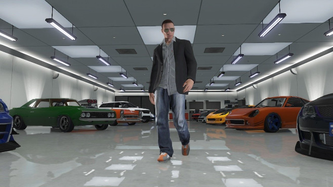 If you steal or purchase a car in Grand Theft Auto V, you'll need to park it in a garage at your safehouse, or some other purchased garage.