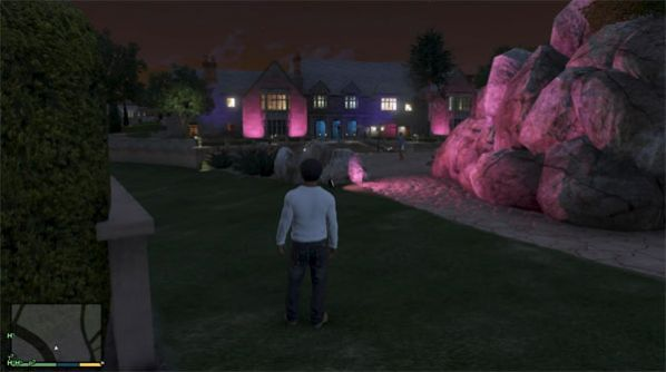 GTA 5 Playboy Mansion Easter Egg