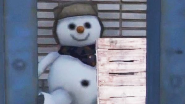 Giant Snowman GTA 5 Easter Egg